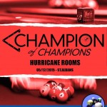 Only 3 spaces left now in Champion of Champions!