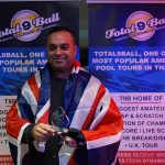 The Maharaja at it again at U.K. 9 Ball Championships!