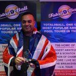 The Maharaja at it again at U.K. 9 Ball Championships!